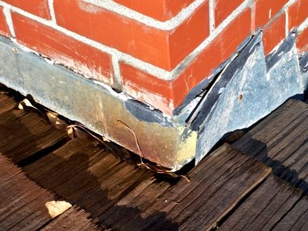 Our Skilled Chimney Sweep Technicians Can Replace Or Repair Your Flashing.  At Nashville Fireplace U0026 Chimney, We Use Flash Seal To Resurface And Seal  The ...